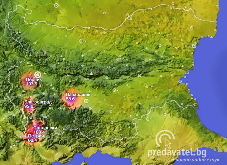 Karta Na Pokritie Na Radio Ultra Predavatel Blgariya